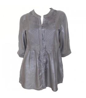 Camicia tunica grigia