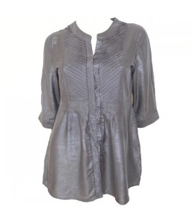 Grey tunic shirt
