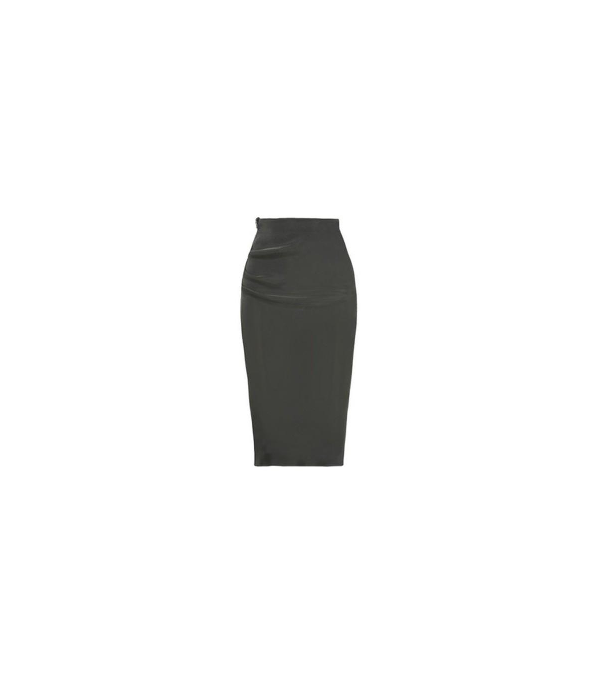 c2b1530676 Stretch Satin Pencil Skirt Size S. Black Stretch Satin Pinstripe Skirt. Pencil  Skirt. Black Pencil Antonio Melani Adelaide Stretch Satin Exaggerated Bow  ...