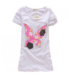 Butterfly short sleeve top