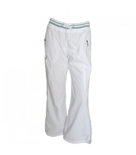 White activewear pants