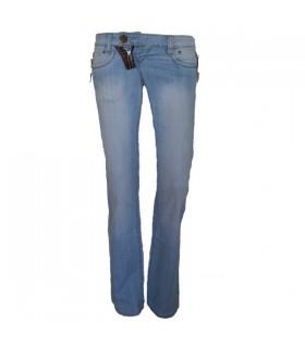 Hippie blue jeans