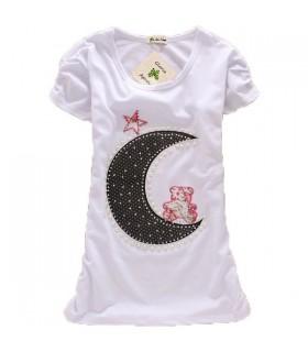 Moon light short sleeve top