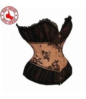 Vintage cream corset