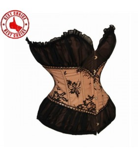 Vintage crema corsetto