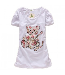 Lovely bear short sleeves top