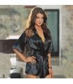 Sexy black robe