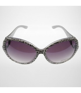 Grey fashion frames sunglasses