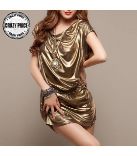 Sexy abito d'oro