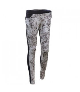 Snake pattern leggings pants