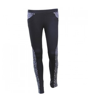 Leopard pattern leggings