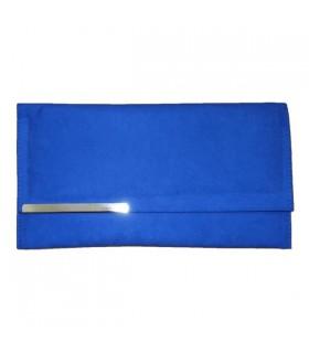 Embrayage fashion bleu
