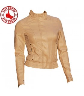 Cream fashion slimming style jacket