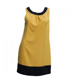 Nettoyez la ligne robe élégante de bureau