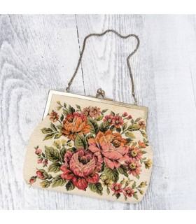 Vintage brodée sac
