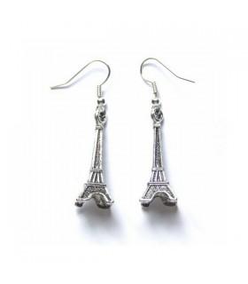 Boucles d'oreilles de style Paris