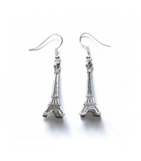 Paris style earrings