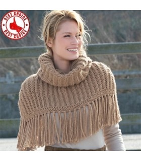 Modern knitted bolero