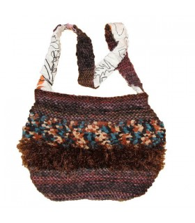 Sac volumineux de crochet