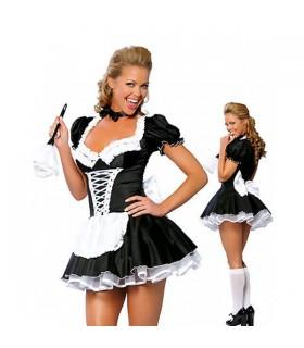 Französisches Zimmermädchen Kostüm