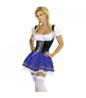 Serve birra ragazza costume