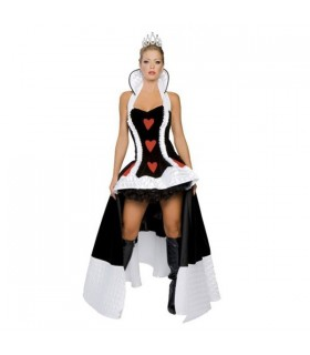 Luxurious Queen halter costume