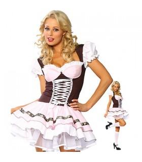 Sexy bière bavaroise fille costume