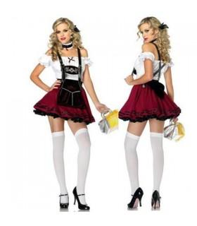 Costume de fille suisse Octoberfest