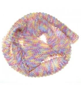 Écharpe molle colorée par mohair