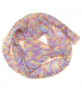 Mohair colored soft scarf