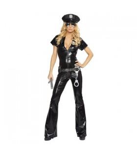Costume d'officier femme de la police