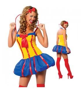 Blanche Neige sexy princesse costume