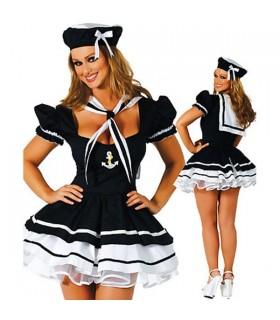 Sailor Frau Kostüm