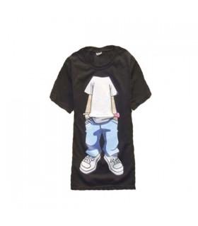 Divertente t-shirt pop senza testa