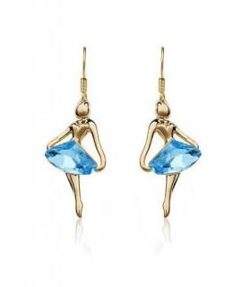 Angelo blu orecchini