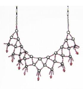 Baroque Kragen Stil Halskette