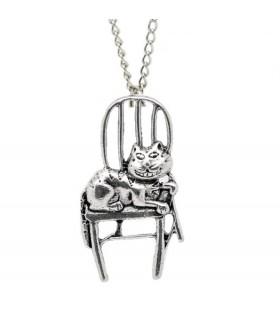 Vorlaut Katze Halskette