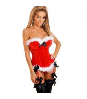 Weihnachten Sexy Korsett
