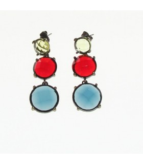 Gorgeous vintage stone earrings