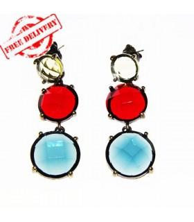 Gorgeous vintage stone earrings