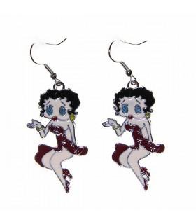 Boucles d'oreilles Betty Boop