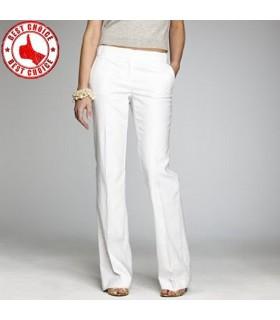 Pantalon en coton blanc
