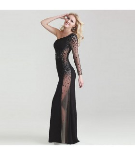 Sexy verziertes Cocktail Kleid