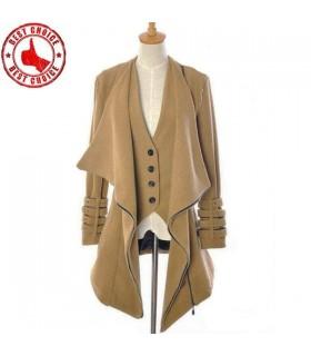 Super moda fibbie cappotto