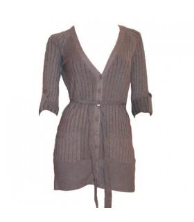 Extra weiche klassischen grauen Pullover