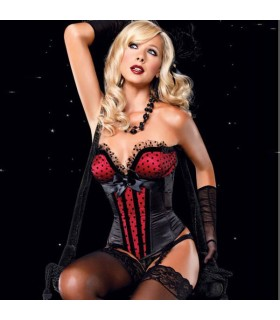 Corset sexy with dots