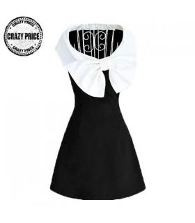 Bowknot vintage dress