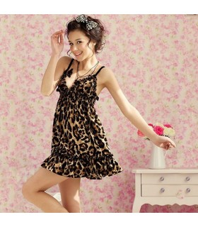 Bezauberndes Leoparden-Kleid
