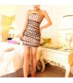 Tulle dots dress