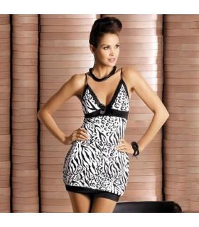 Leopard elastischen Kleid